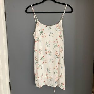 Pacsun floral mini dress